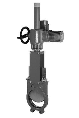 knife gate valve type a