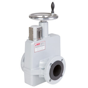 Mechanical Actuated pinch valves